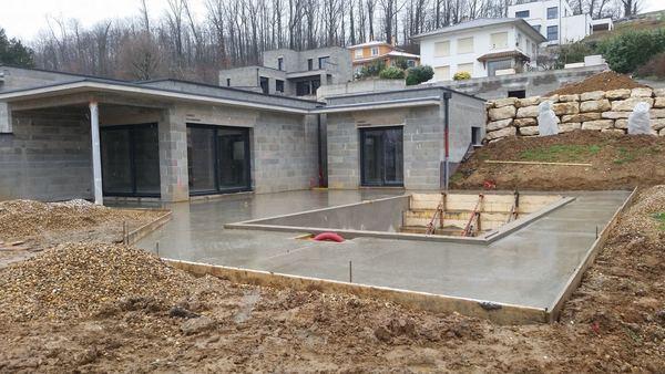 construction agrandissement terasse